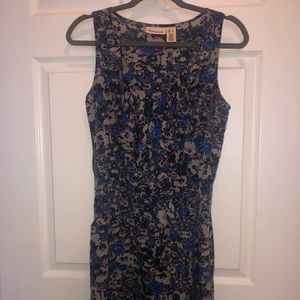 Floral Dkny dress with pockets